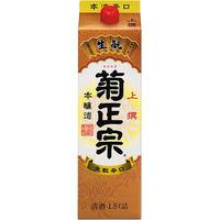 菊正宗酒造 上撰 さけ パック 本醸造 1.8L 1セット(6本) 日本酒