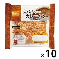 敷島製パン Pasco ロングライフパン スパイシーカレーパン 1セット(10個) 敷島製パン