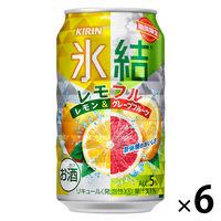 (期間限定)キリンビール キリン 氷結 レモフル 350ml×6本 チューハイ サワー 酎ハイ