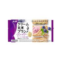 アサヒグループ食品 クリーム玄米ブラン バランスアップ ブルーベリー 4枚 [3889]