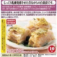 天政松下 国産ぬか漬 白菜百日漬 200g×10袋 52251 1個(直送品)