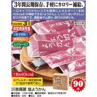 キッスビー健全食 災害備蓄 塩ようかん 15本×6箱 a20665 1個(直送品)