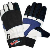 ユニワールド 人工皮革手袋 M ストロングセブン SR-7 10双(直送品)
