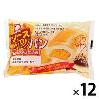 パネックス KOUBO ソースカツパン 1セット(12個) ロングライフパン