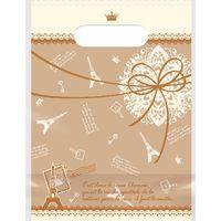 ササガワ デコラパック パリ・小 ブラウン 35-4056 1包 【20枚袋入】(取寄品)