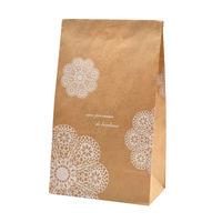 ササガワ ギフトバッグ 角底袋 レースィ 中 50-3212 1包 【100枚袋入】(取寄品)