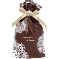 ササガワ 巾着袋 レースィ 小 50-3712 1包 【10枚袋入】(取寄品)