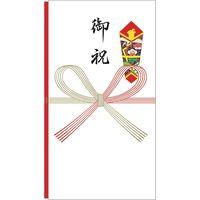 ササガワ 祝儀袋 多当のし袋 祝 御祝 奉書紙 5-2611 1セット:50枚 【1枚袋入×50枚箱入】(取寄品)