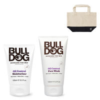 【脂性肌用セット】BULLDOG(ブルドッグ)洗顔料 + 保湿クリーム + ランチトートのおまけ付 スキンケア シック・ジャパン