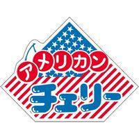 ササガワ 食品表示シール SLラベル アメリカンチェリー 41-3696 1セット:5000片(500片袋入×10袋)(直送品)