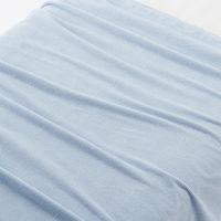 無印良品 綿パイル綾織タオルケット薄手・S/ライトブルー 140×200cm 82586978 良品計画
