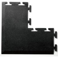 八ッ矢工業 ジムマット 黒 コーナー 75055 1個(直送品)