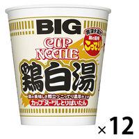 日清食品 カップヌードル 鶏白湯 ビッグ 1セット(12食)