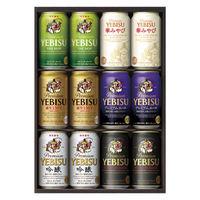 (中元ビールギフト)(エコ包装・短冊のし)ヱビス6種セット YHR3D サッポロビール 1箱