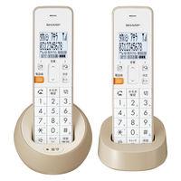 シャープ コードレス電話機 JD-S08CW-C (子機2台タイプ)