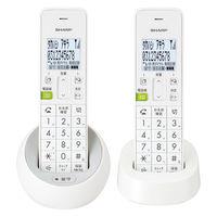 シャープ コードレス電話機 JD-S08CW-W (子機2台タイプ)