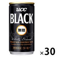 UCC ブラック・無糖 30缶