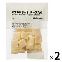 良品計画 無印良品 マスカルポーネチーズたら 2袋 82147797 良品計画