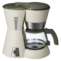 4カップコーヒーメーカー ベージュ