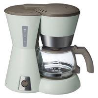 4カップコーヒーメーカー グリーン