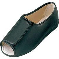 マリアンヌ製靴 リハビリシューズ GM601 黒 25cm 1足(直送品)