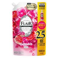 フレアフレグランス フローラルスウィートの香り 詰替え超特大1000mL 1個 柔軟剤 花王