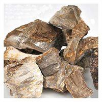 形状お任せ 木化石 サイズミックス 2250001156567 1個(直送品)