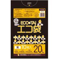 サンキョウプラテック 20L 10枚0.025mm厚 黒 LLDPE素材 LN-22 1000枚入(1袋10枚入り×100袋)(取寄品)