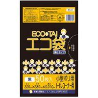 サンキョウプラテック 7L 50枚0.010mm厚 黒 HDPE素材 KN-07 6000枚入(1袋50枚入り×120袋)(取寄品)