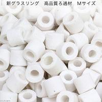 リーフ 新グラスリング 高品質ろ過材 Mサイズ リング状ろ材 2250002672141 1個(直送品)