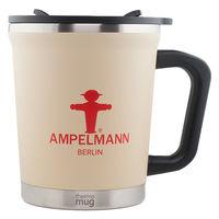 アンペルマン AMPELMANN マグカップ(STOP) ステンレス 300ml ダブル構造 カメイプロアクト