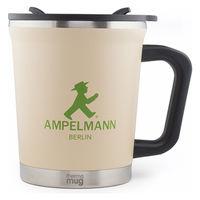 アンペルマン AMPELMANN マグカップ(GO) ステンレス 300ml ダブル構造 カメイプロアクト