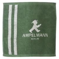 アンペルマン AMPELMANN ハンドタオル(GO) ハンカチサイズ 日本製 綿100% 日本ユーテンシル