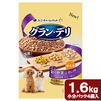 ユニ・チャーム 成犬用 彩り野菜入りセレクト 4520699623886 1個(直送品)