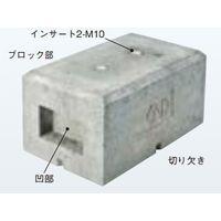 ネグロス電工 架台用ベースブロック MKBS1CM10 1個(直送品)