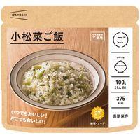 杉田エース イザメシ 小松菜ご飯 (長期保存ごはん) 636087 1セット(24個)(直送品)