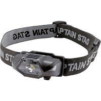 キャプテンスタッグ シンプルLEDヘッドライト ブラック(直送品)