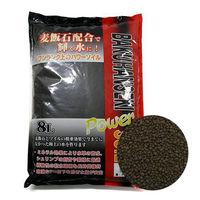 ソネケミファ 麦飯石パワーソイル 小粒 黒 4948465201104 1個(直送品)