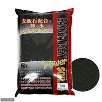 ソネケミファ 麦飯石パワーソイル パウダー 黒 4948465201159 1個(直送品)