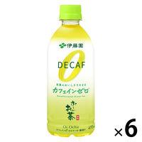 おーいお茶カフェインゼロ470ml×6