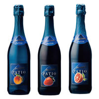 低アルコール微発泡フルーツワイン3本