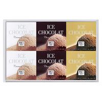 三越伊勢丹〈ヴィタメール〉 アイス・ショコラ 1箱(6個入)伊勢丹の紙袋付き 手土産ギフト 洋菓子