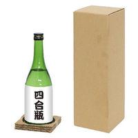 【60サイズ】和洋酒兼用宅配箱1本用 縦122×横122×高さ355mm 1梱包(10枚入) スマイル