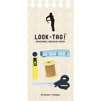 スパイス LOOK-TAG! デザイン付箋 ソーイング PFBS1020 1個(直送品)