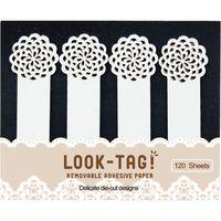 スパイス LOOK-TAG! デザイン付箋 フラワー PFBS1150 1個(直送品)