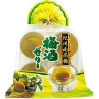 【ギフト・12箱セット】金澤兼六製菓 巾着紀州南高梅梅酒ゼリー KUN-4(直送品)