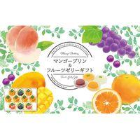 【ギフト・12箱セット】金澤兼六製菓 マンゴープリン&フルーツゼリーギフト MF-10(直送品)