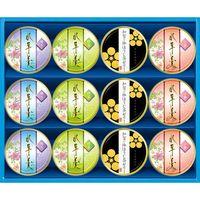 【ギフト・12箱セット】金澤兼六製菓 水羊羹&加賀棒ほうじ茶ゼリー MYB-20(直送品)