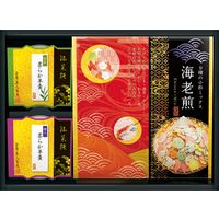 【ギフト・20箱セット】金澤兼六製菓 かりんとう&羊羹&煎餅 和菓あわせ WK-10(直送品)