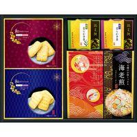 【ギフト・14箱セット】金澤兼六製菓 煎餅&羊羹 和菓合わせ WK-20(直送品)